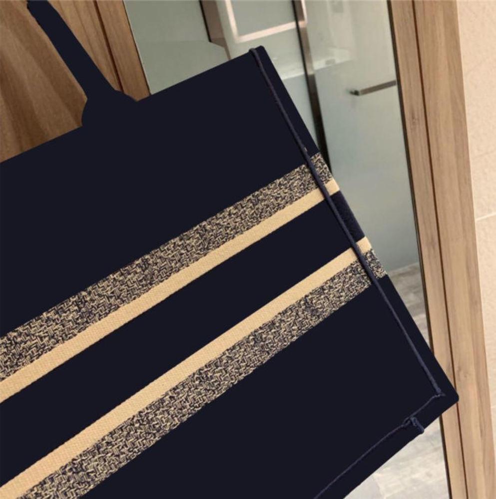 2021 handbag fashion bags ladies 42 cm luxury canvas embroidery shopping bag wholesale Bolsa Feminina