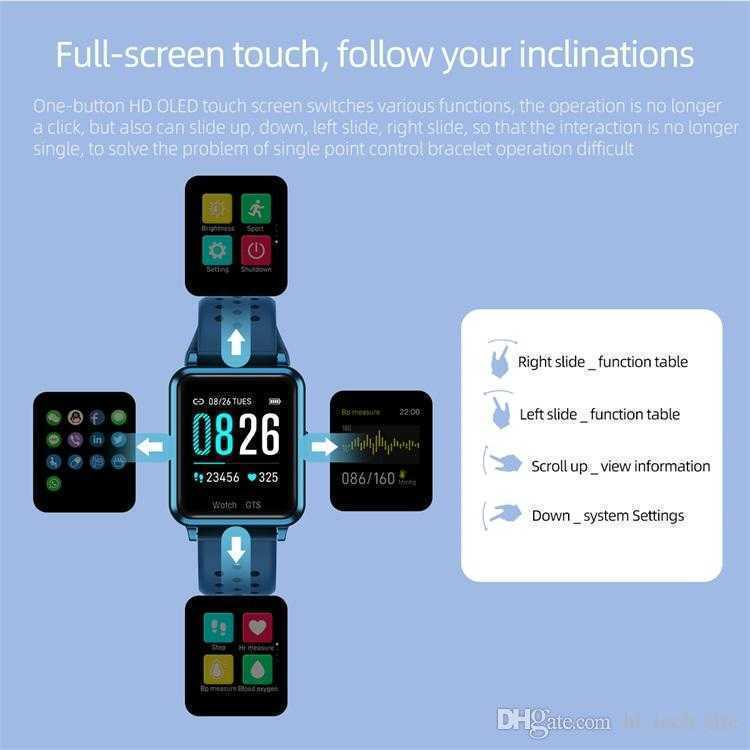 ios smartwatch For apple iphone Smart Watch Bluetooth color screen smart watches For android smart watch relógio inteligente