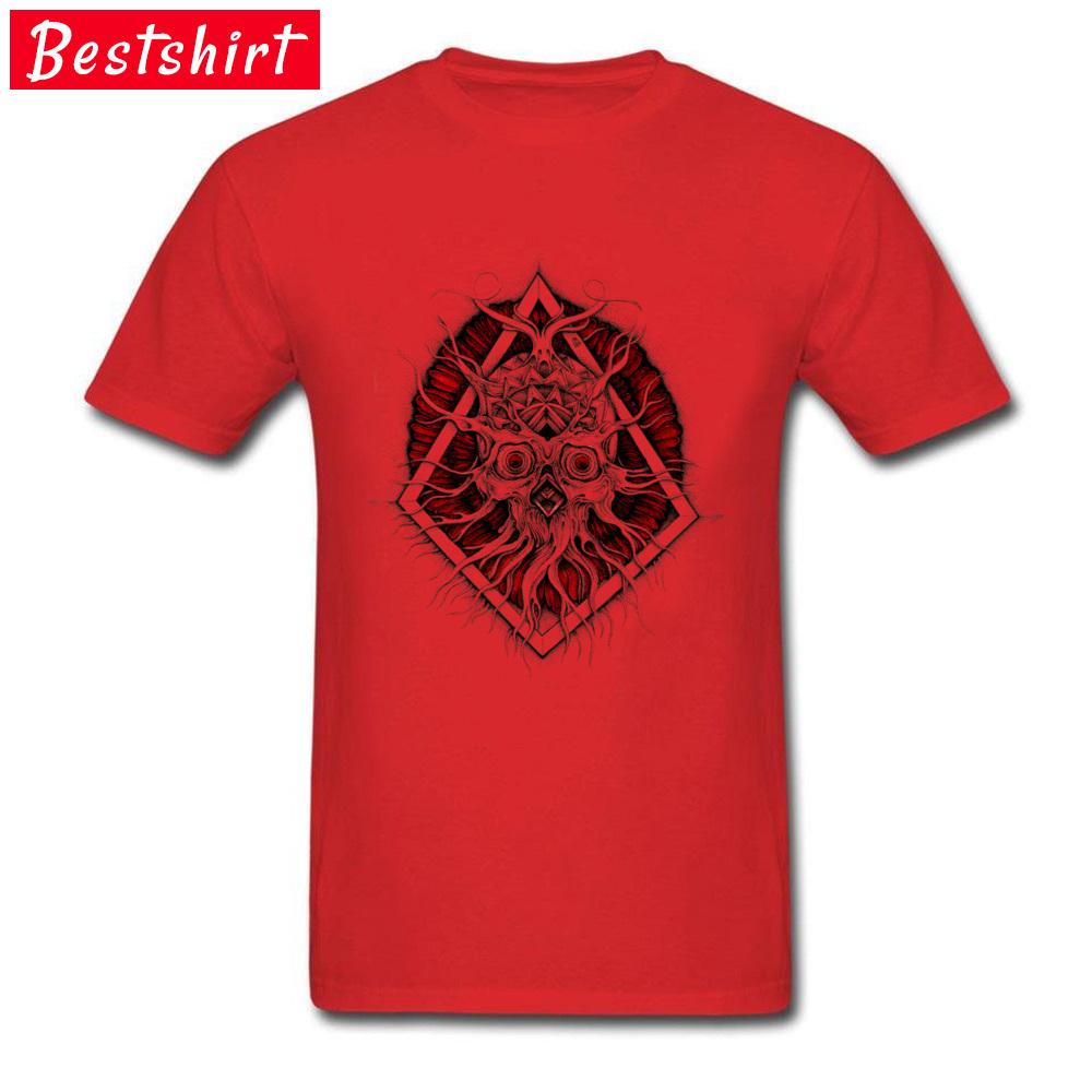 comfortable Sinnerman Mens T-Shirt Discount VALENTINE DAY Short Sleeve Round Neck 100% Cotton Tops & Tees 3D Printed Tee Shirts Sinnerman red