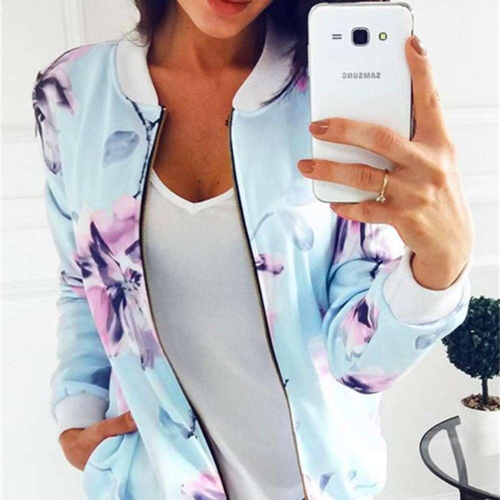 New Women Printing Flowers woman hoodies long sleeve hoody Sweact Cotton Blend shirt Jumper Zipper Tops Pullover Jacket sweatshirt Hot