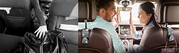 bling car seat hook
