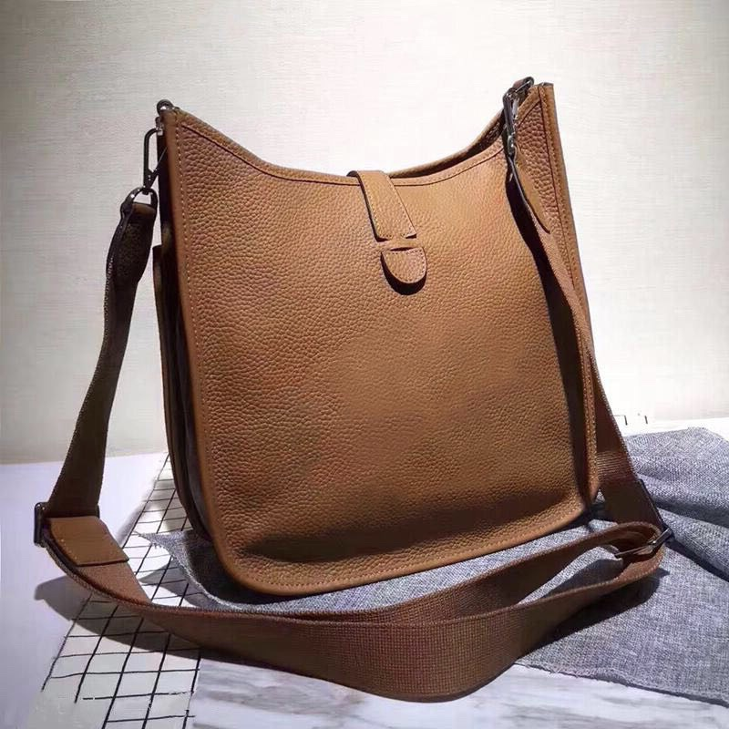 2021 Wholesale real cowhide genuine leather fashion shoulder bag mini handbags Polychromatic shopping bag purse casual messenger bag