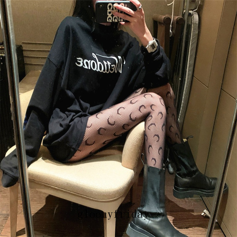 White Girl Party Stockings Sexy Black Hollow Out Pattern Women Tights Night Club Sexy Lady Stockings Sock Fashion Female