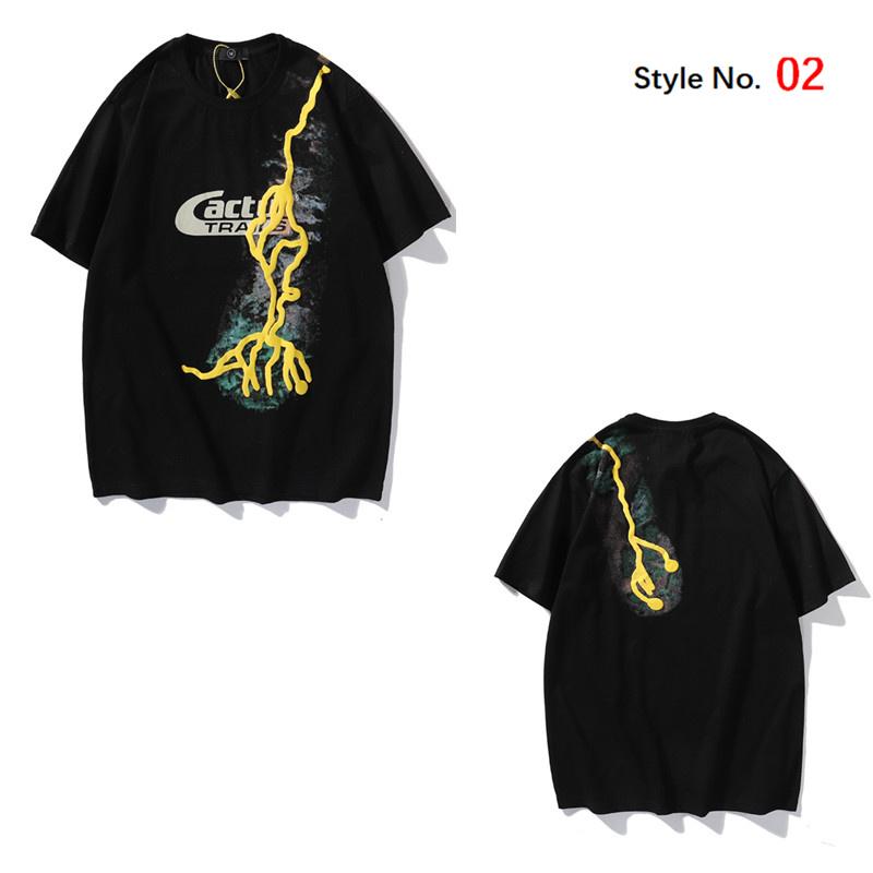 2021 Mens T Shirt Summer High Quality Men Stylist tShirt Hip Hop Women Black Short Sleeve Tees with box