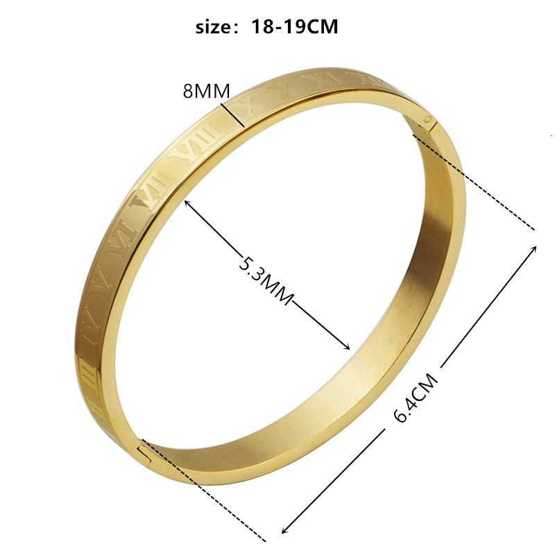 Bracelets Bangles Men Women Stainless Steel Gold Love Viking Unisex Pulseras Luxury Fashion Jewelry Gift Valentine's Day Christmas