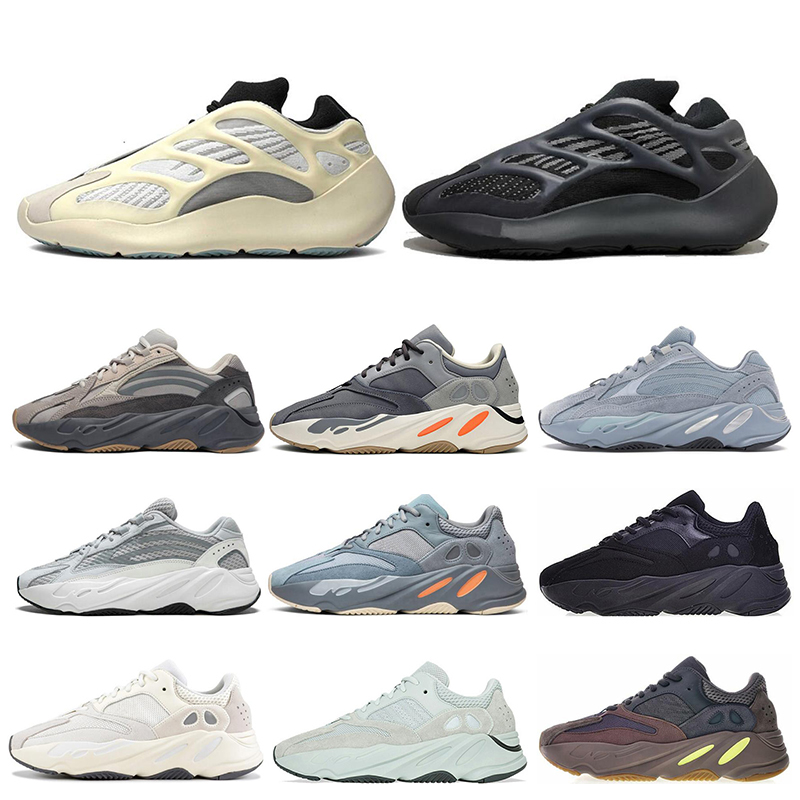 Fashion Running Shoes for Mens Women Wave Runner Mauve Alvah Azael Mist reflective triple black Static Sports Sneakers size 36-45
