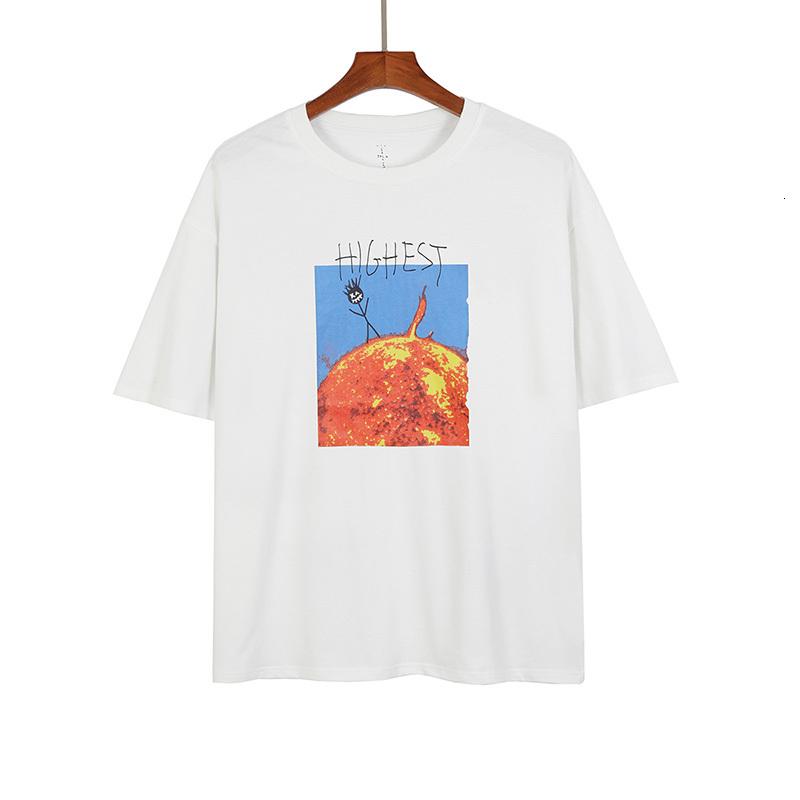 Europe Summer HITR Sun Tee Skateboard Men t shirt Women Street Casual cotton Tshirt