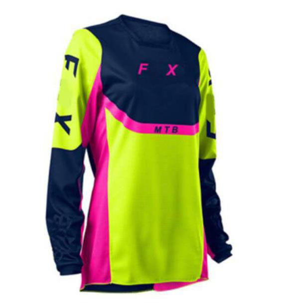 The new motorcycle jersey, ladies track racing suit, downhill jersey, the same style customization