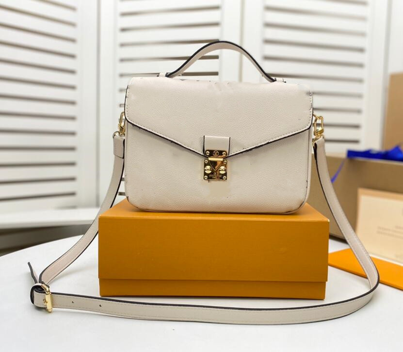 Luxury designer fashion bags women Genuine leather handbag with letters old flower handbags shoulder bag