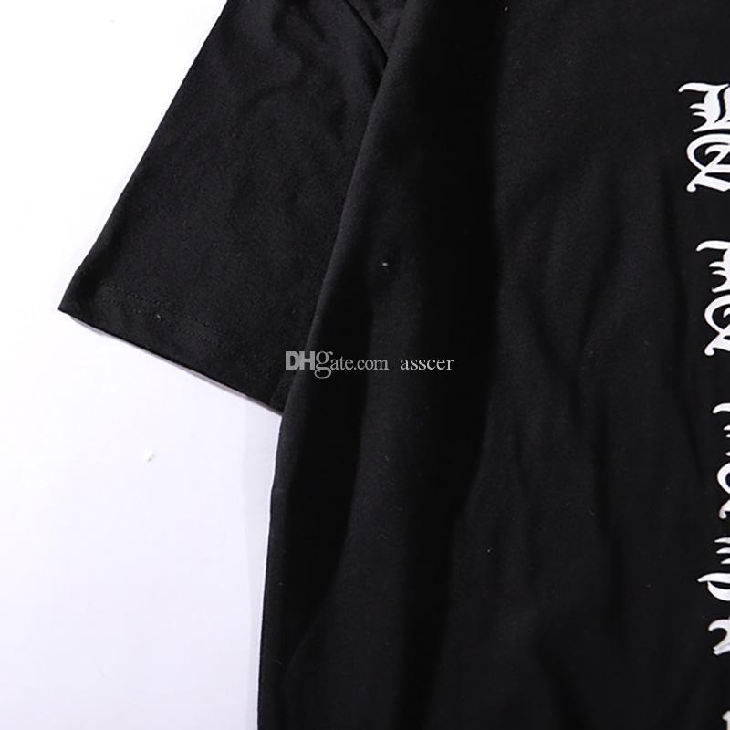 19SS Mens T Shirt Short Sleeves Fashion Casual Tees High Quality Men Women Hip Hop Tees