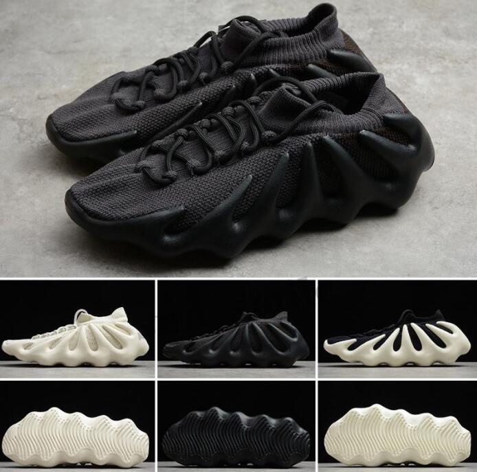 Cloud White 450 Run Shoes Dark Slate Men Women Black Designer Sneakers Knit Come Static Reflective Trainer sneaker size36-45
