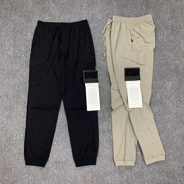 Topstoney Compass badge embroidered pants tooling pocket casual trousers High Quality Brand pant luxurys designers trouser fashion hombre