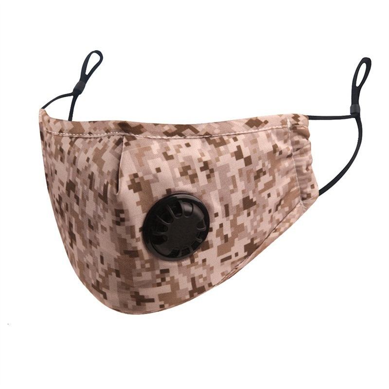 Fashion Leopard Protective Face Mask Anti Dust Mouth Respirator Can Put Pm2.5 Filter Mascarilla Cotton Cloth Washable Reusable 5jsa B2
