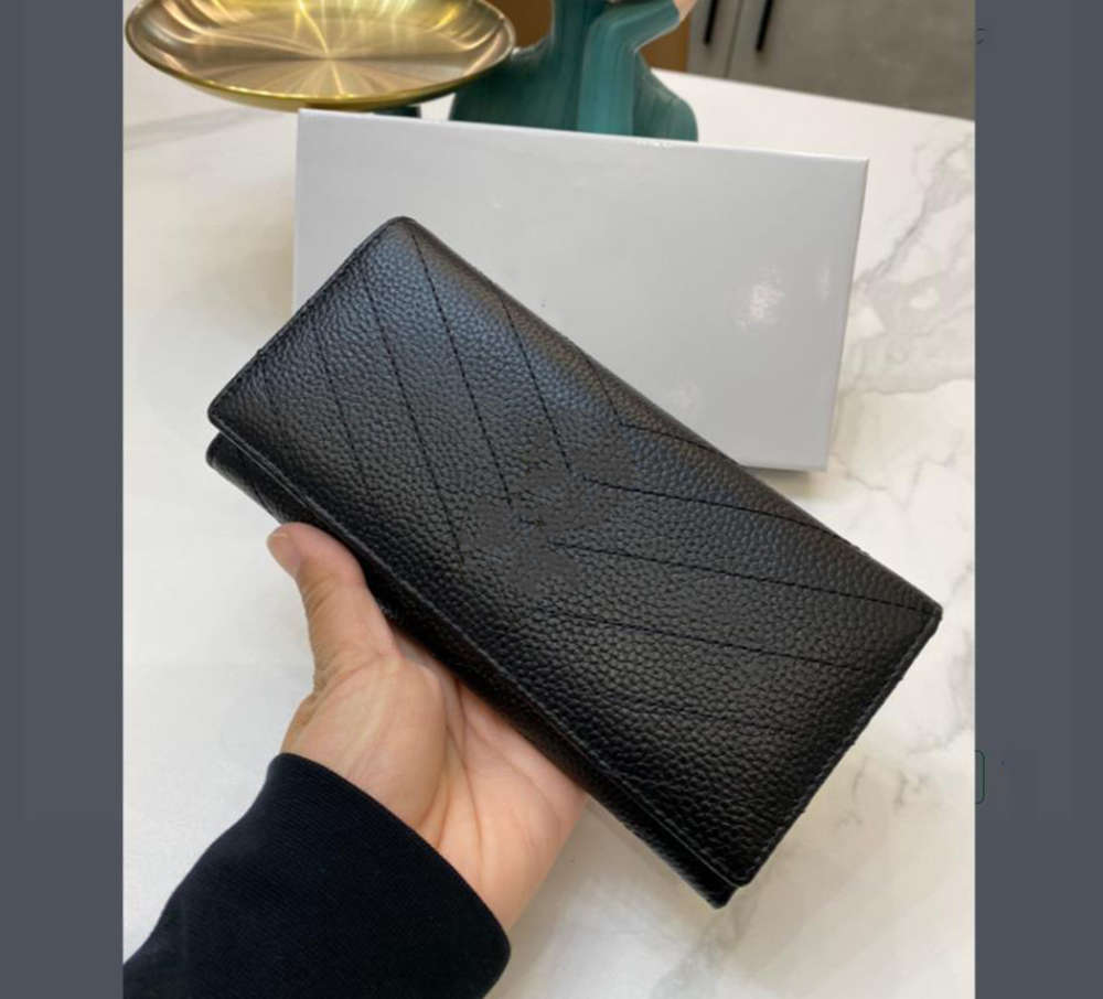 High Quality UNISEX wallet long purse for women AND MEN leather wallets fashion style