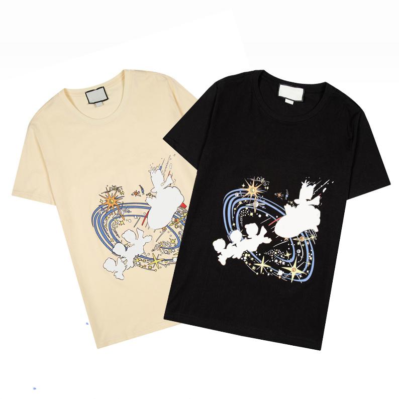 21ss Mens WomenS Designers T Shirts Man Fashion men s clothes casual T-shirt Street Shorts Sleeve Women Clothing Tshirts 2021 T-shirts GO6983
