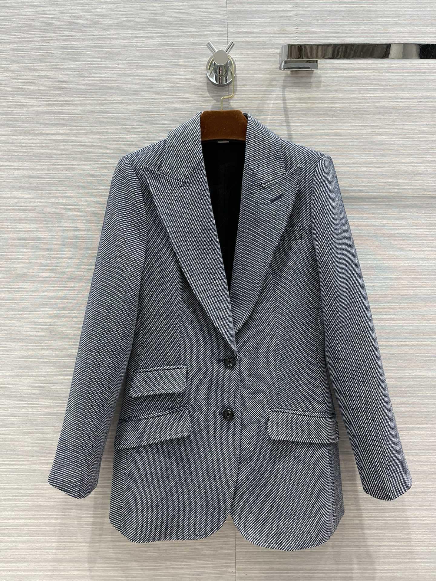 Milan Runway Coats 2021 Lapel Neck Long Sleeve Women's coats Designer Coats Brand Same Style Jackets 0520-10
