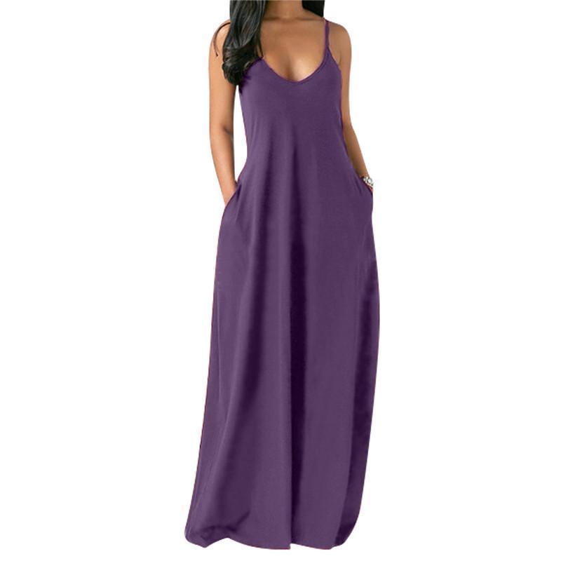 womens maxi floor Length dress one piece dresses summer sleeveless gallus clothes high quality slim elegant luxury clubwear women clothing klw6433
