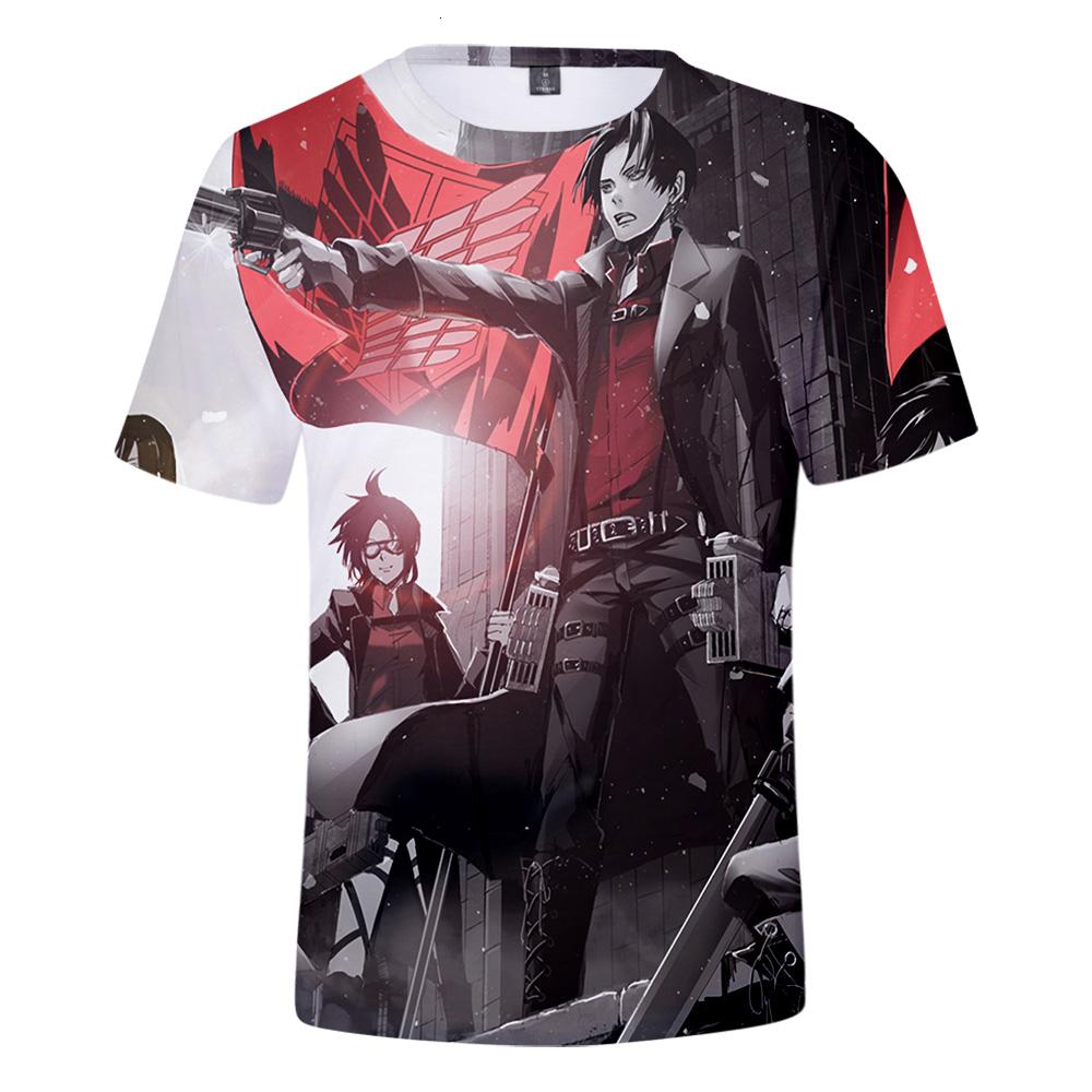 Women/Men Anime Attack On Titan S4 T shirt 3D Printed T-shirt Attack the titans Summer Short Sleeve Teens Boys Girls Tshirts