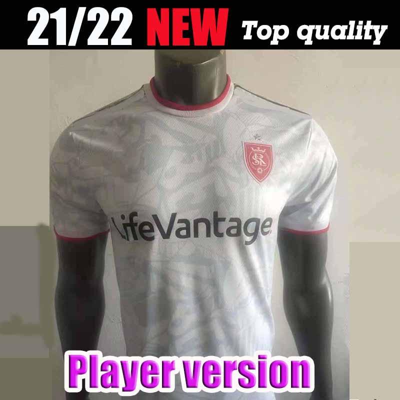 Player version 2021 MLS Salt Lake Soccer Jersey 21 22 BECKERMAN MERAM Uniform Mens Salt Lake RUSNAK KREILACH Football Shirts Salt Lake