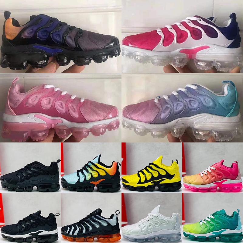 2022 Chaussures Mens Kids Running Sports Shoes Infant boys girls tn plus ultra KUP OG White Black Jogging Sneakers Basketball Tns Zapatillaes