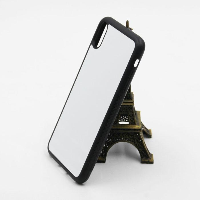 Blank 2D Sublimation Case TPU+PC Heat Transfer Phone Cases Ful Cover for iPhone 12 Mini 11 Pro Max for Samsung with Aluminum Inserts
