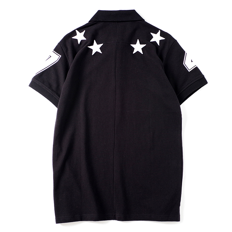 New Arrival Mens T Shirts Fashion Men Women Shirts Star Pattern Print Stylist Tees Size S-XXL