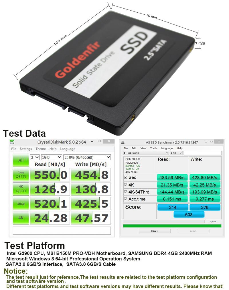 500GB black