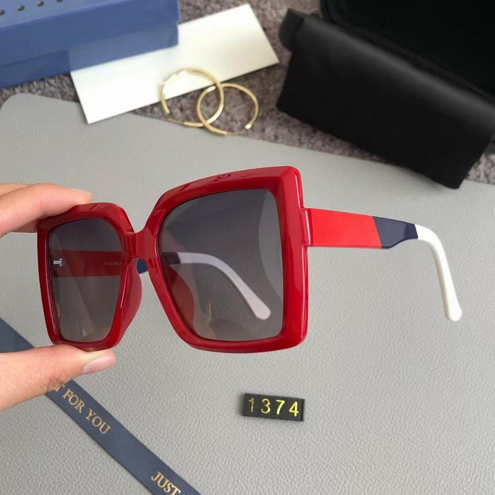2021 Digner Square Sunglass Men Women Vintage Shad Driving Polarized Male Sun Glass Fashion Metal Plank Sunglass Eyewear Top Quality 1374
