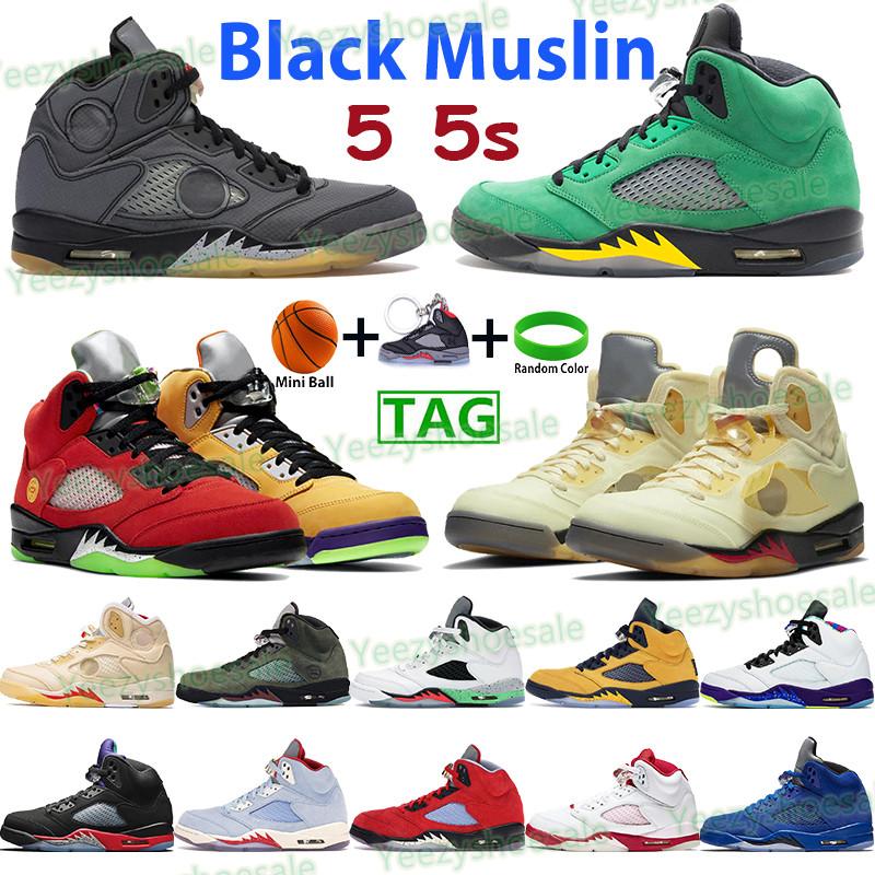 5 5s basketball shoes men women sneakers white x sail black muslin grey easter oregon alternate bel top 3 pink foam infrared trainers