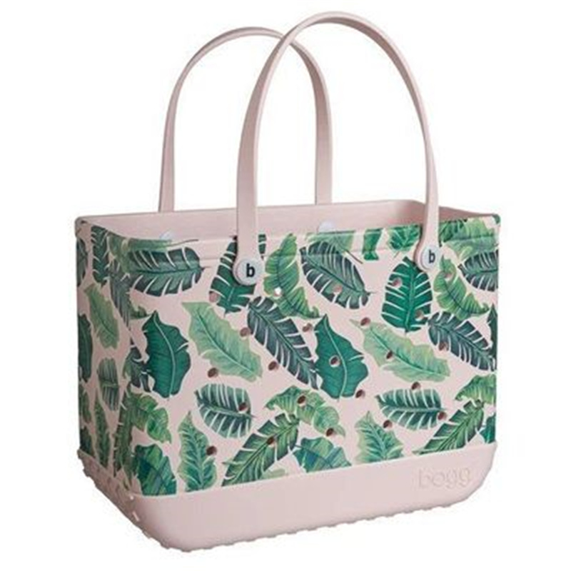 Outdoor Bags Beach Extra Large Leopard Printed Eva Baskets Women Fashion Capacity Tote Handbags Summer