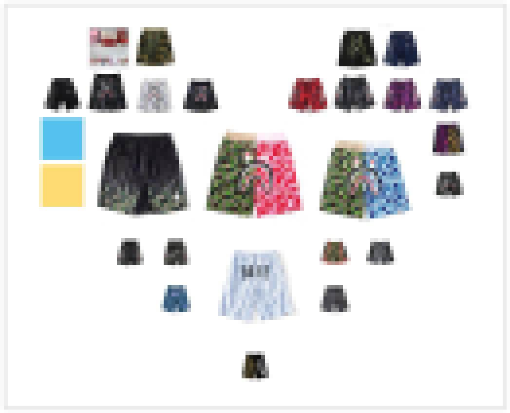 A Bathing A Ape 21Bape Casual Shark Camouflage Summer Men's Camo Casual Sports Short Pants