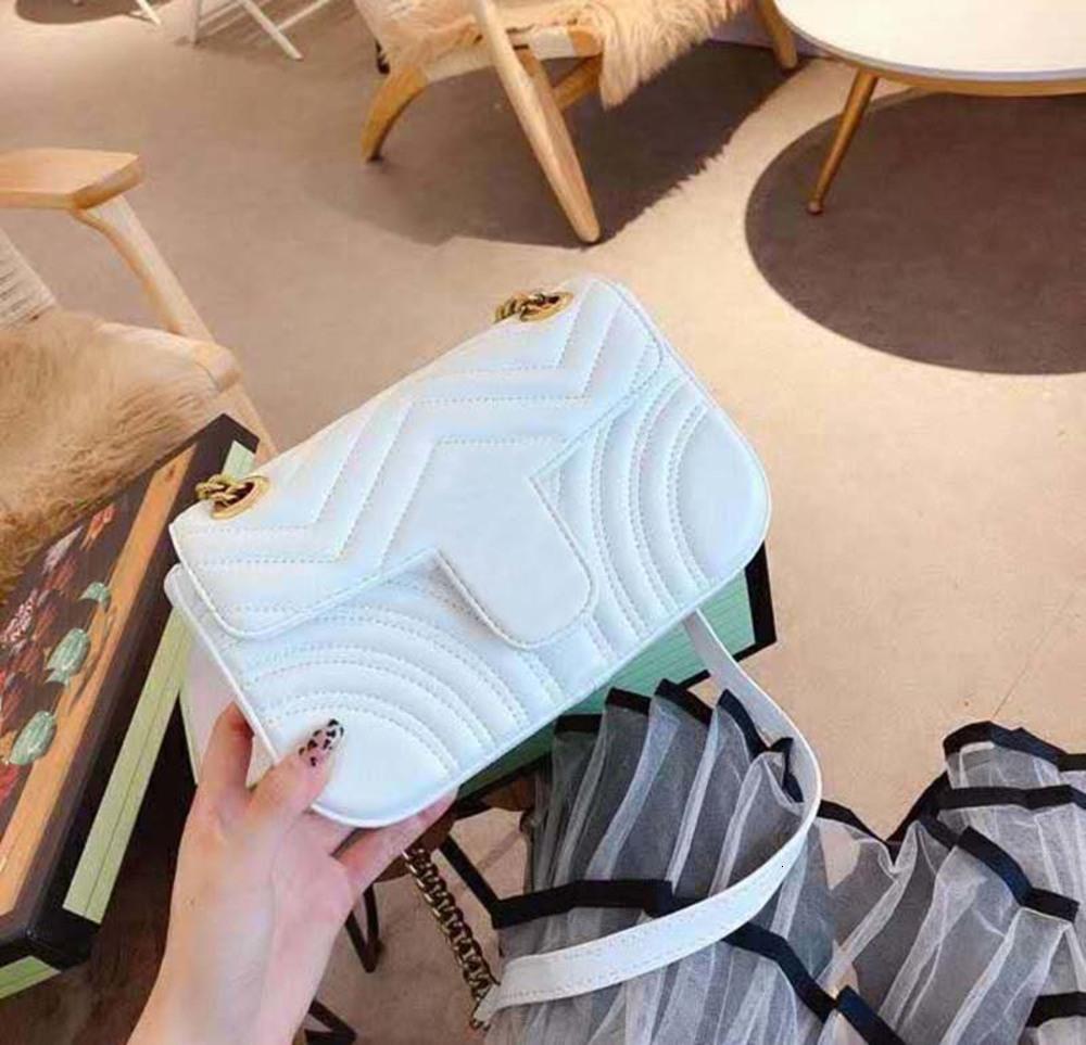Fashion Love heart V Wave Pattern Satchel Shoulder Bag Chain Handbags Crossbody Purse Lady Leather Classic Style Ladies Tote Bag