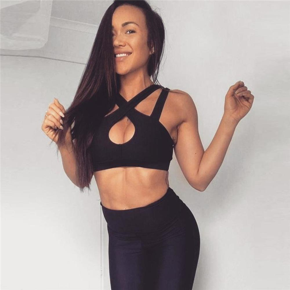 Women Sexy Yoga Suit Fashion Hollow Out Tracksuit Crop Top Pants Sets Sports Running Bra Leggings Ladies Sportswear Casual Suit 050714