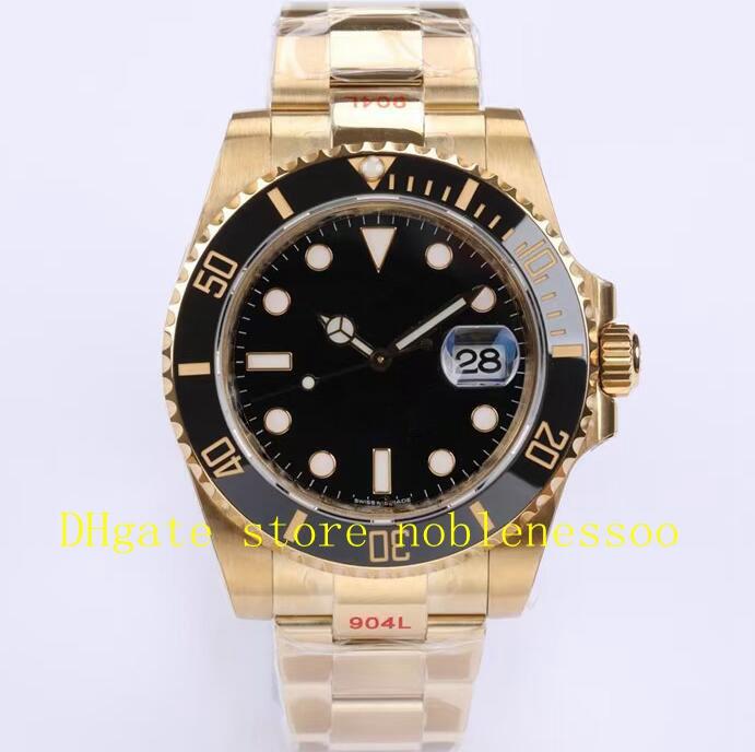 4 Style Cal.3235 Eta Watch 904L Steel Men's Ceramic Bezel 126618ln 126613ln 126618lb 126613lb 18K Yellow Gold Blue Dial Date Dive Sport EW Factory Mens Watches