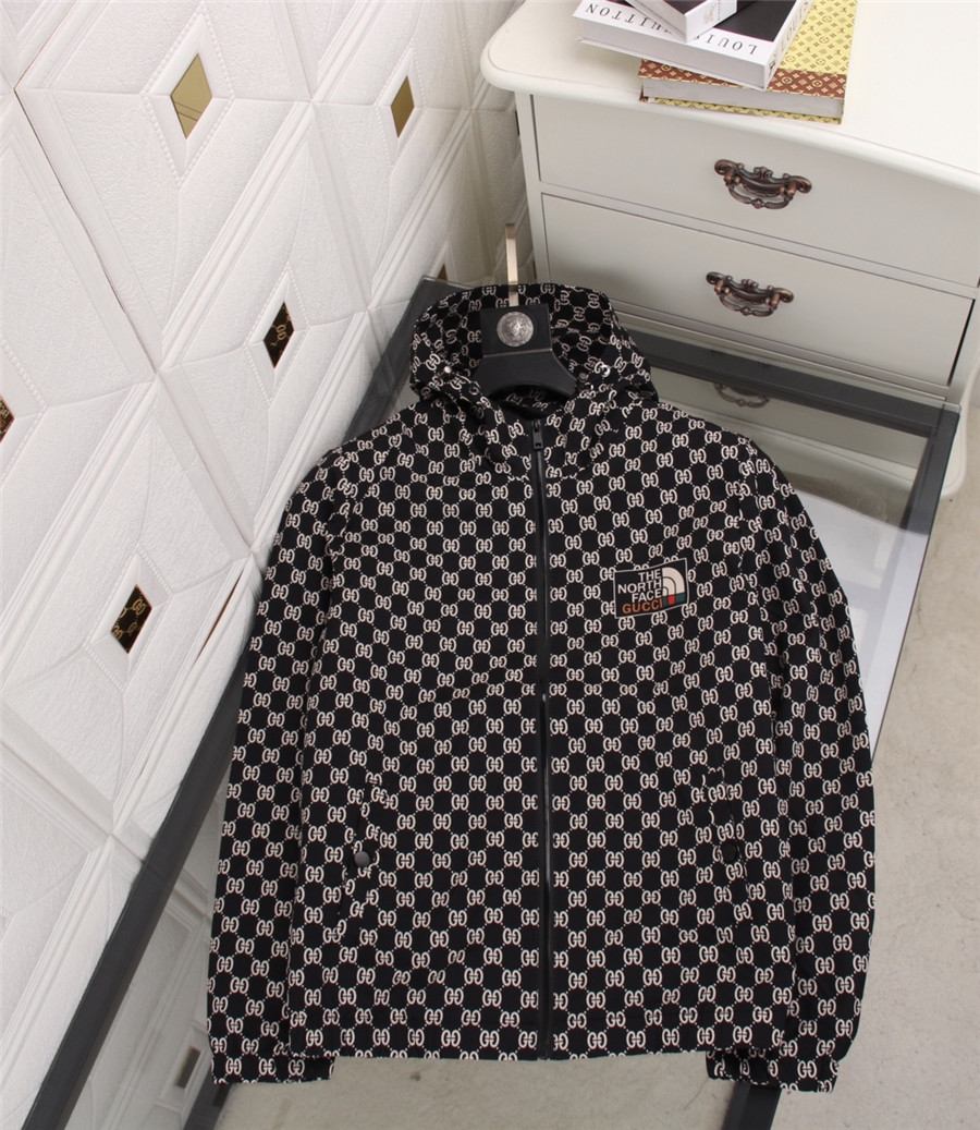 Fashion Designer Mens Jacket Windbreaker Long Sleeve Floral Jackets Hoodie Clothing Zippe Up Coat Plus Size Clothes M-3XL @A14