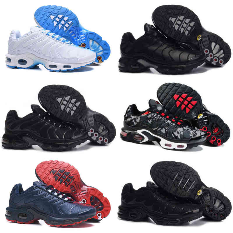 Sell New Tn Mens Shoes Black White Red Classic TN Plus Ultra Sports Running Shoes Cheap Tns Requin Airs Basketball Designer Trainer Sneakers J05