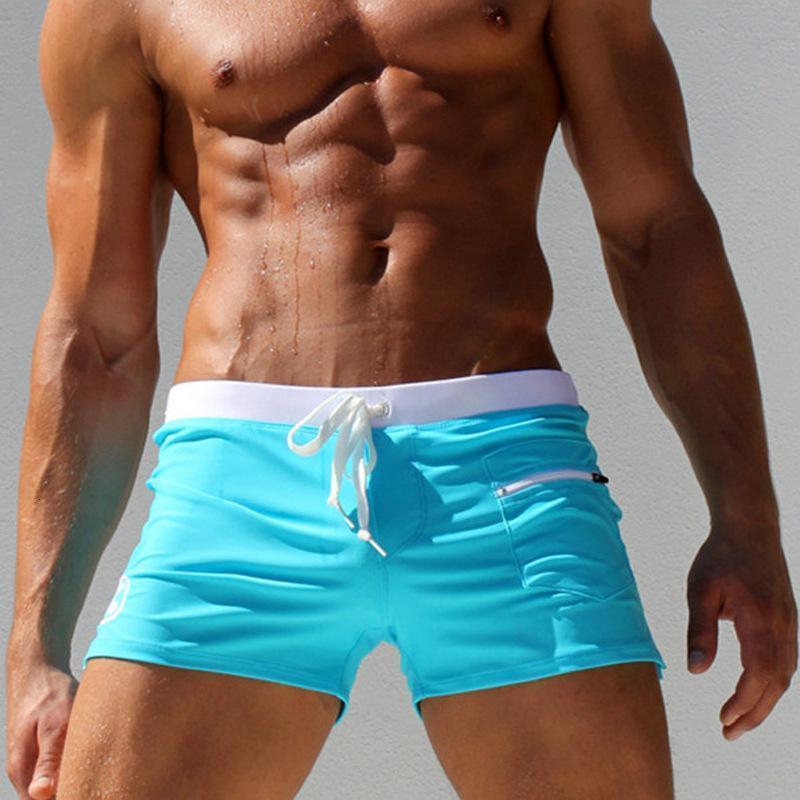 Swimwear Men Sexy swimming trunks sunga swimsuit mens swim wear briefs Beach Shorts Casual Style with