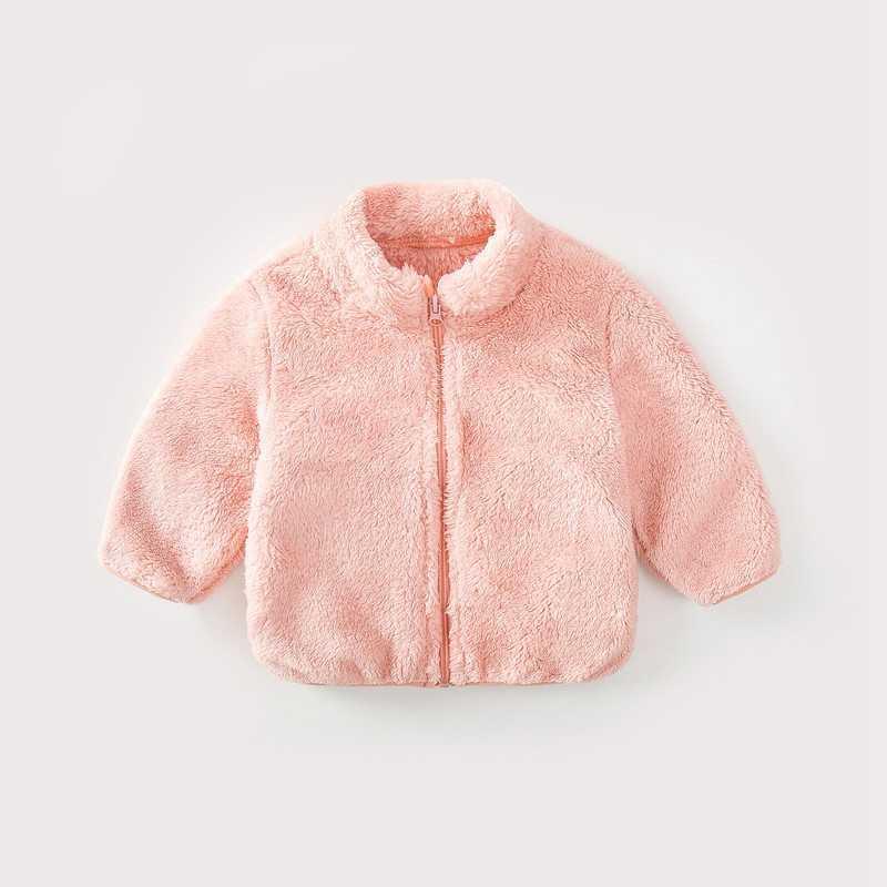 COOTELILI Fashion Fur Velvet Girls Boys Jacket Baby Girls Coat Fleece Warm Kids Jacket Snowsuit Baby Girl Hooded Outerwear (20)
