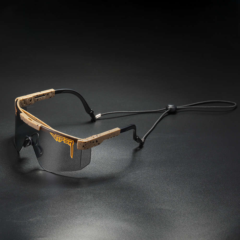 2000 the Van Pit Viper Shield Men Women One Piece Uva/uvb Sunglasses Protection Tape with Adjustable Bead