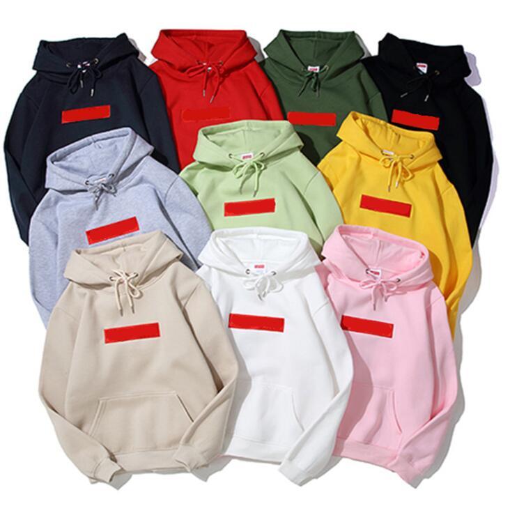 Autumn 2021 Paris SP Fashion Designer Men's Hoodie 14 colors blend women's hoodies High quality heavy fleece warm comfort cotton