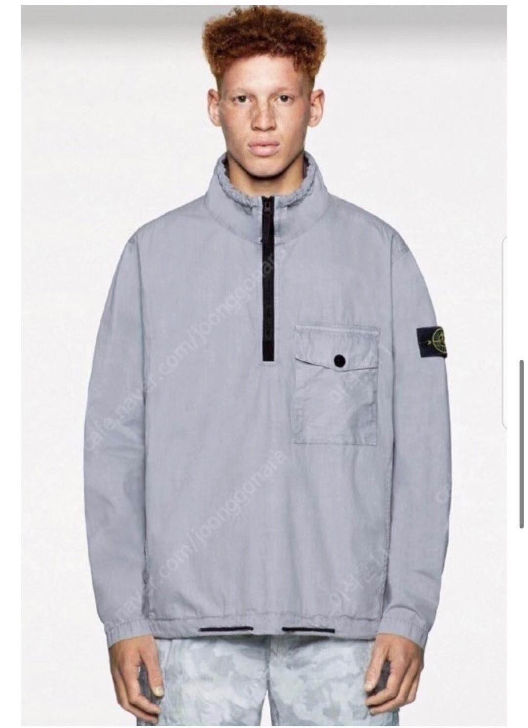 2021 Crime Stone Half-Zip Jacket Men's Jackets Compass Mark