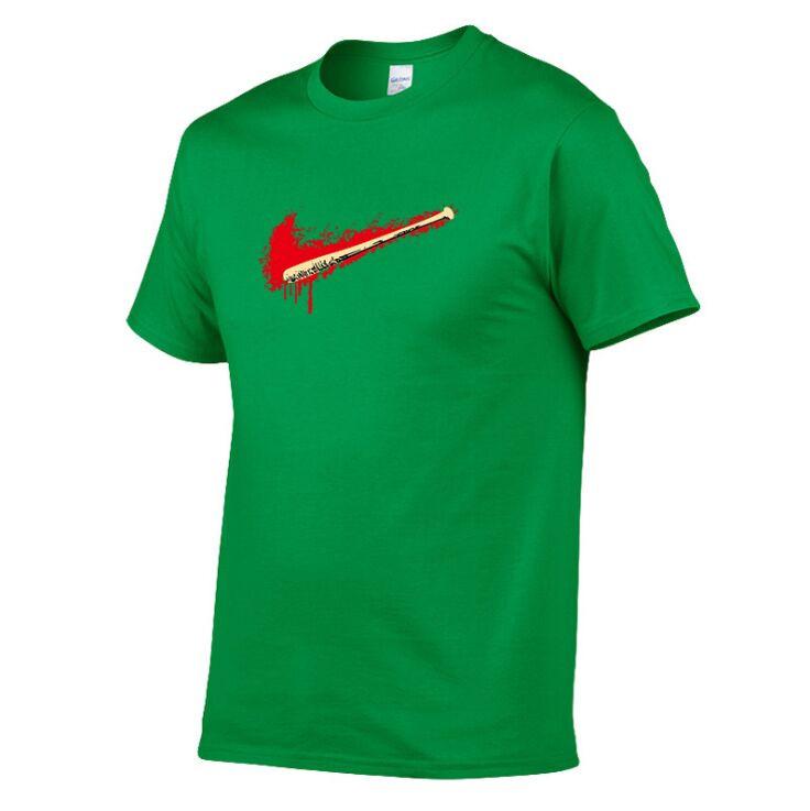 Man Summer Brand Printing T shirts Men polo Short Sleeve 100% Cotton T-shirt white color Basic casual Tee Shirt Tops Plus Size S-XXL