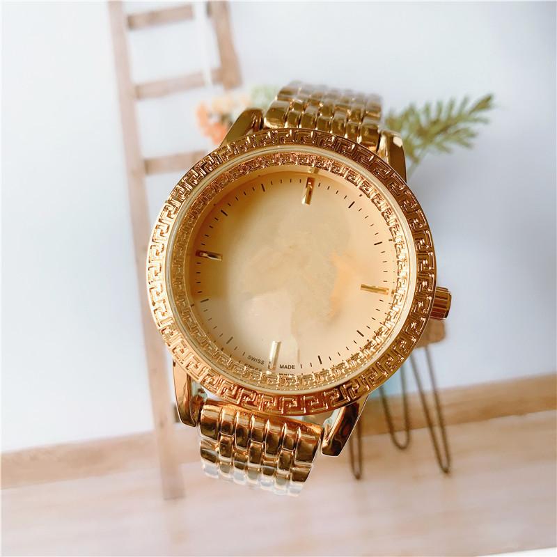Montre de luxe mens automatic quartz gold watch mens dress full stainless steel business fashion designer classic watch