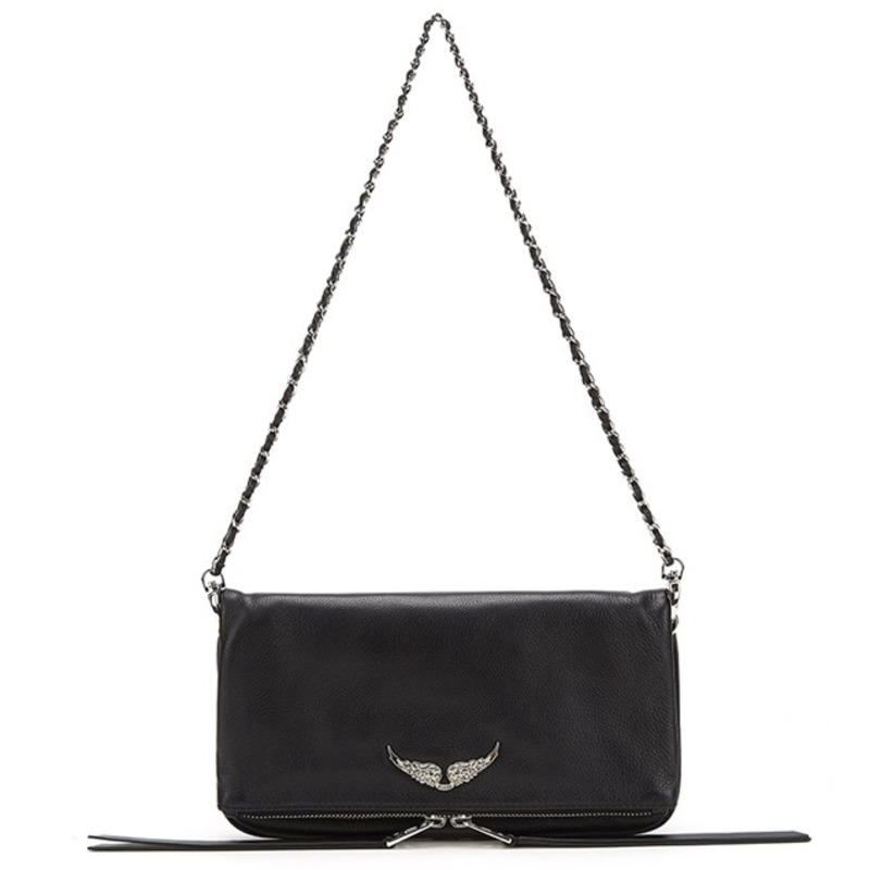 New Arrivals top quality New Women Shoulder Bags Genuine Leather Small Personality Wings Decorated Chain Messenger Bag Womens B