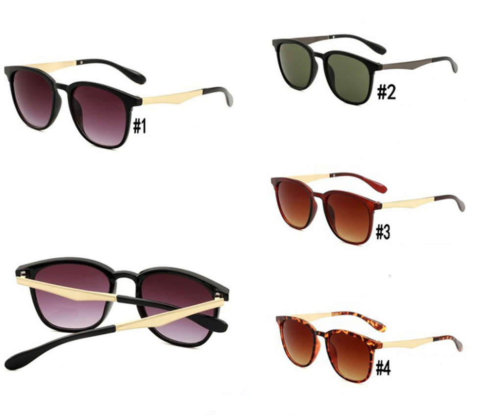 4278 Digner Sunglass Popular Brand Glass Outdoor Metal Frame Fashion Ladi Classic luxury Men Sunglass with Case and Box