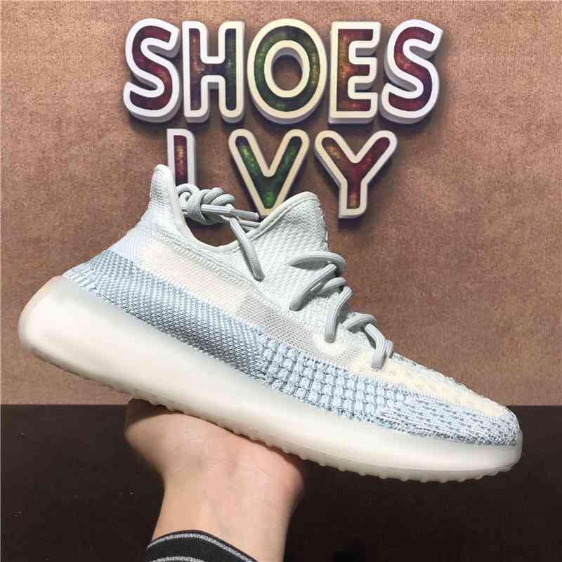 Top Quality Men Women Running Shoes V2 Cloud White True Form Yecheil Zebra Tail Light Sneakers TrainersY139
