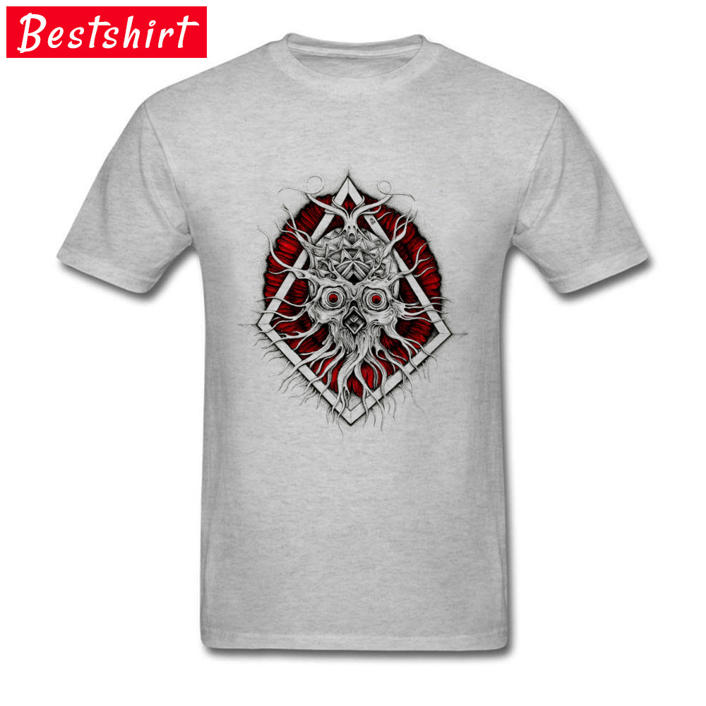 comfortable Sinnerman Mens T-Shirt Discount VALENTINE DAY Short Sleeve Round Neck 100% Cotton Tops & Tees 3D Printed Tee Shirts Sinnerman grey