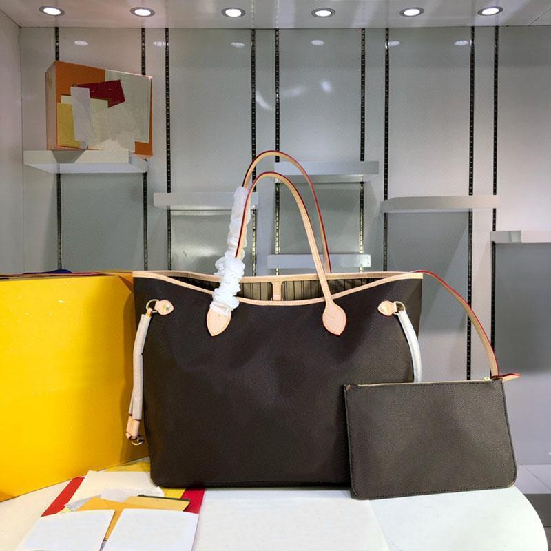 M40156 Designer Handbags Luxury Messenger Bags Women Leather Shoulder Crossbody With Wallet+Small Bag 2 pcs Casual
