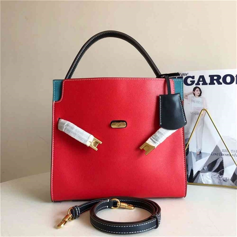 New TB women's handbag in 2021, large size parquet tramp bag, one shoulder diagonal fashionable leather bag Clearance 73% off Wholesale