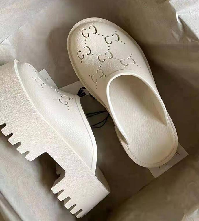 Platform Shoes Flash Slippers Sandals Luxury Designer Shoe Luxurys Balencaigafoam runner Slides Slide Sandal Men Women Slipper Box High Heels A dhgate.com